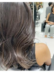 銀座の美容室Salon カーキアッシュヘア
