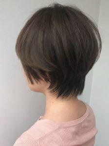 銀座の美容室Salon 柔らかショートヘア