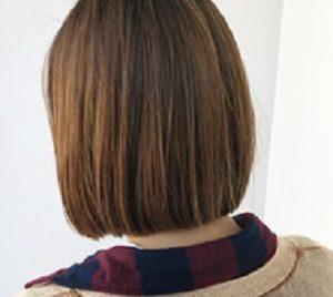 銀座の美容院Salonの縮毛矯正