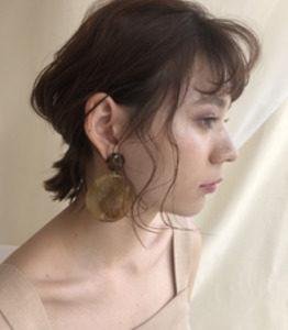 銀座の美容院Salonのアレンジヘア