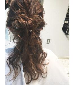 銀座の美容室Salon イベントにぴったりなヘアアレンジ