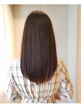 銀座の美容室 髪質改善トリートメント