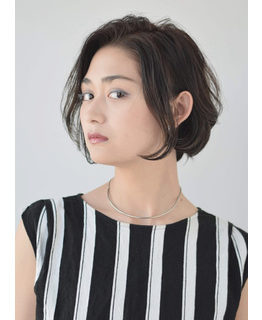 銀座の美容院Salonの女性モデル